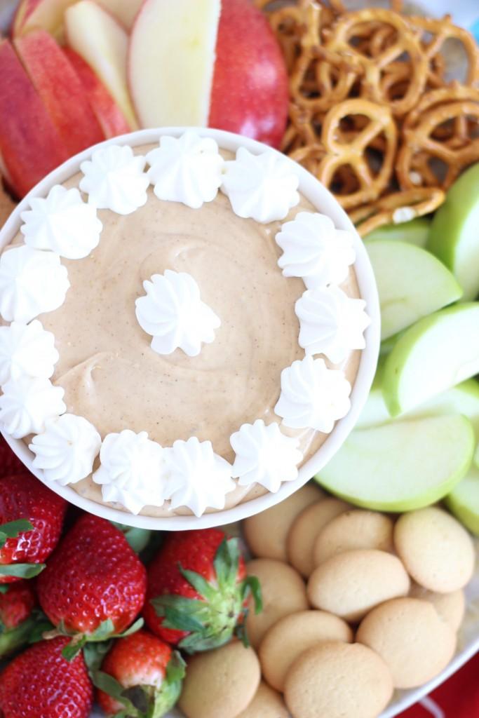 5-minute peanut butter dip 2