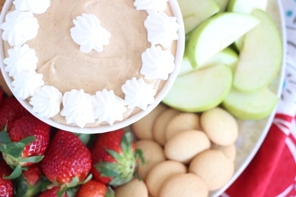 5-minute peanut butter dip 7