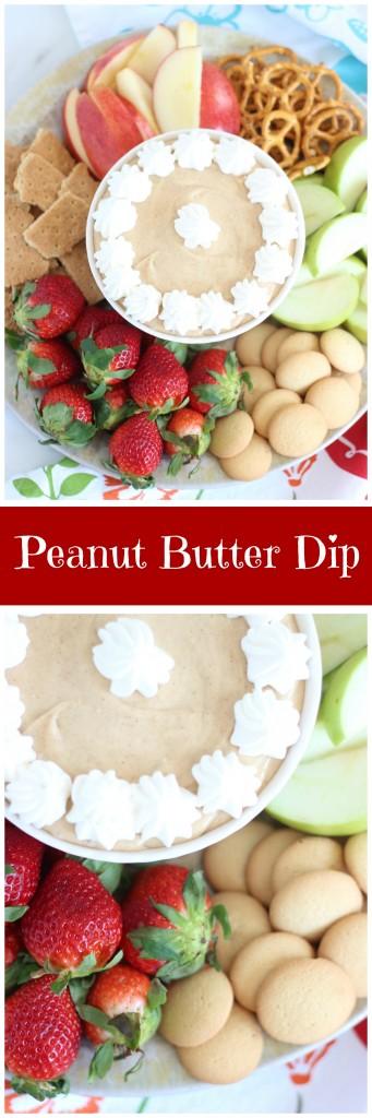 5-minute peanut butter dip pin