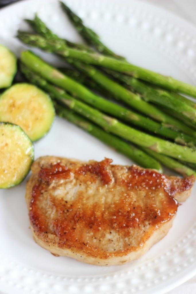 honey balsamic baked pork chops 8
