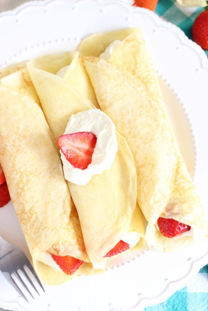 strawberry lemonade crepes 7