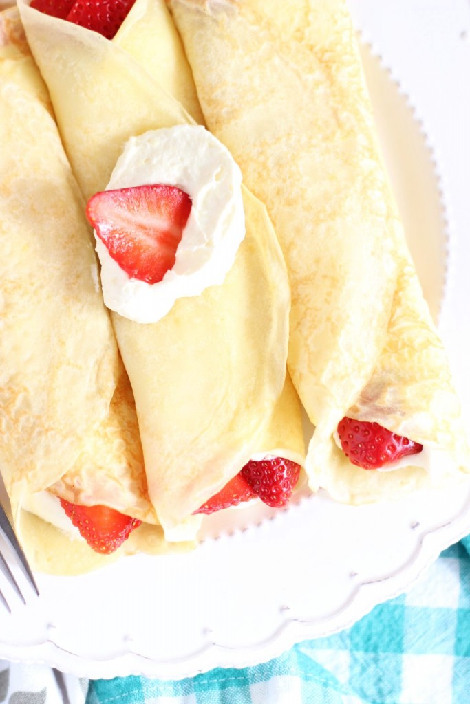 strawberry lemonade crepes 9