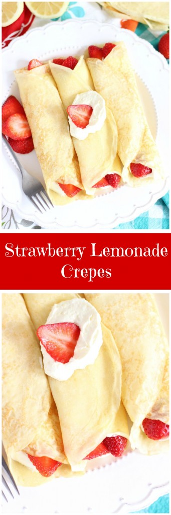 strawberry lemonade crepes pin