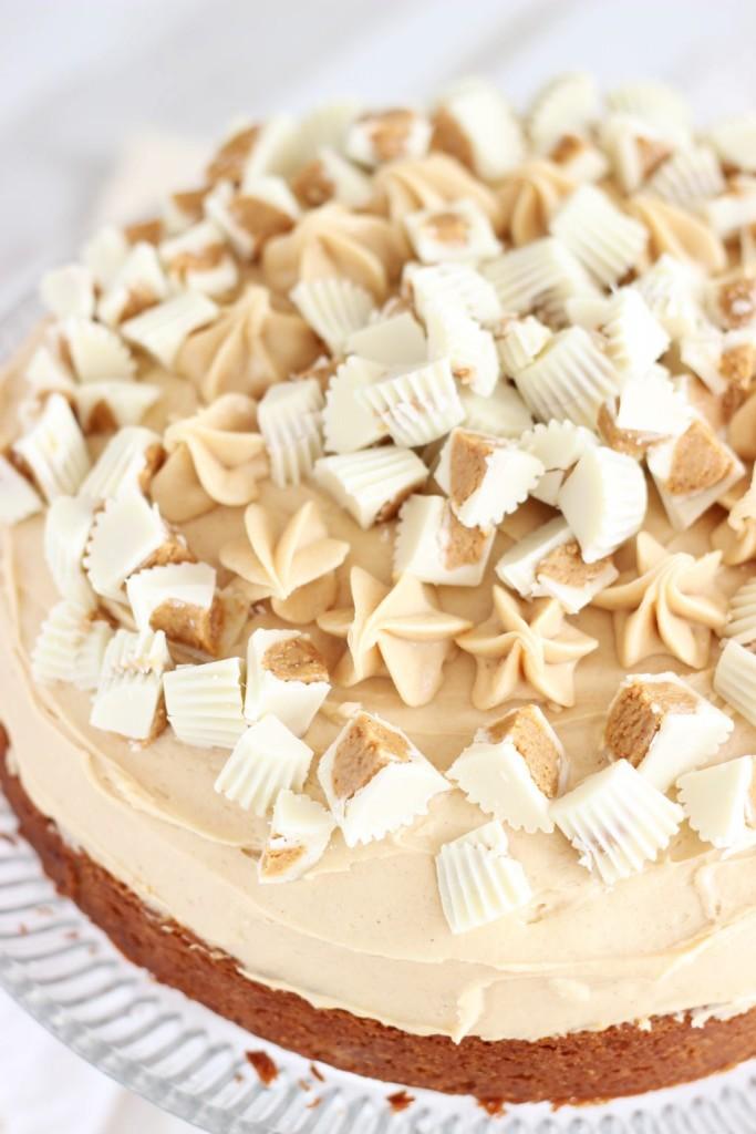 white chocolate peanut butter blondie cheesecake 15