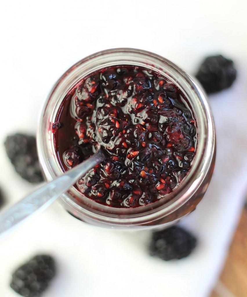blackberry panna cotta with orange curd 6