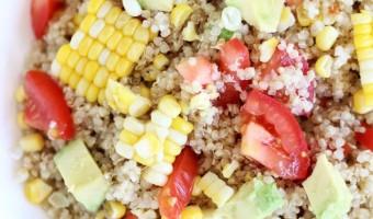 corn avocado tomato quinoa salad 7