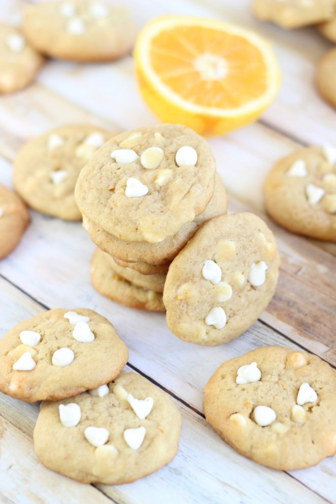 orange white chocolate chip cookies 4