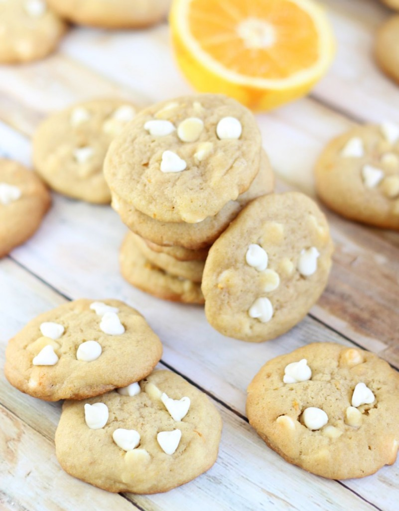 orange white chocolate chip cookies 5