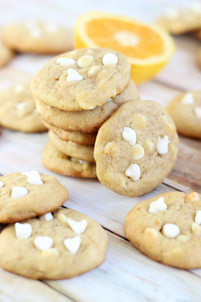 orange white chocolate chip cookies 6