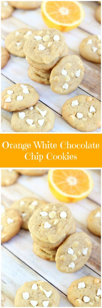 orange white chocolate chip cookies pin