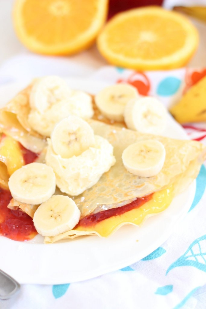 strawberry orange banana sunrise crepes 1