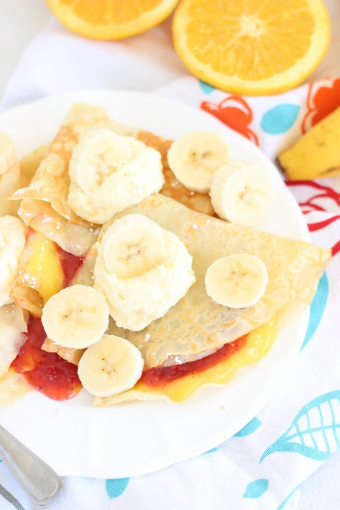 strawberry orange banana sunrise crepes 3