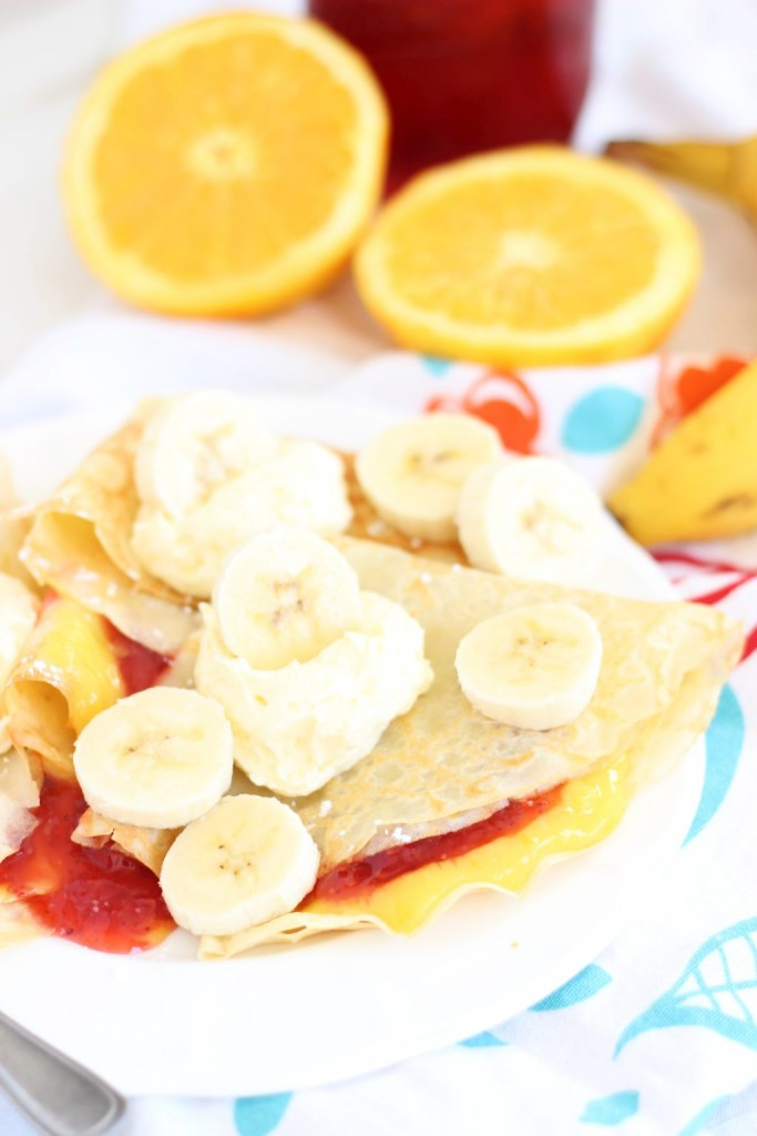 strawberry orange banana sunrise crepes 5
