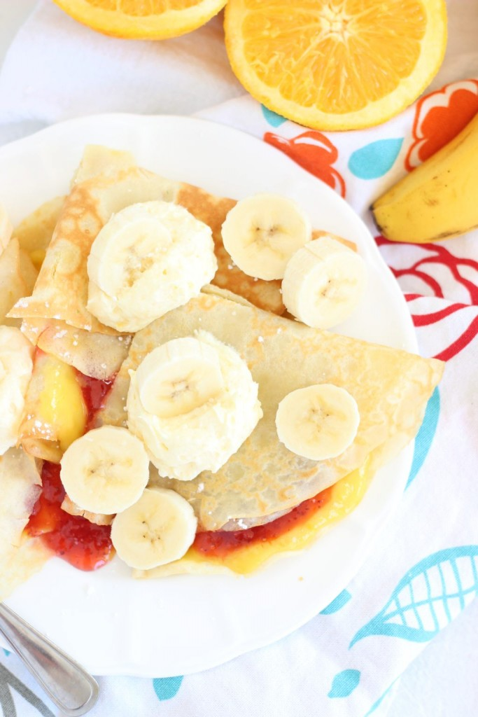 strawberry orange banana sunrise crepes 7