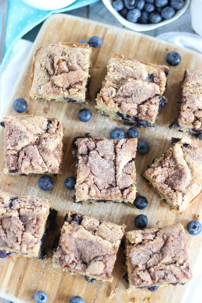 blueberry cinnamon swirl protein coffee cake 15