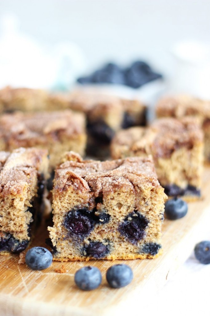 blueberry cinnamon swirl protein coffee cake 8