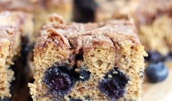 blueberry cinnamon swirl protein coffee cake 9