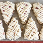 Brown Sugar Maple Bacon Scones with Maple Brown Butter Glaze