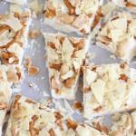 Caramel Pretzel Salted Peanut Potato Chip Bark