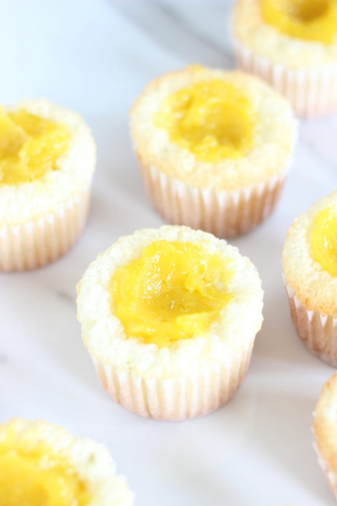 key lime angel food cupcakes with key lime curd 3