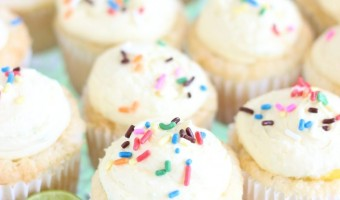 key lime angel food cupcakes with key lime curd 6