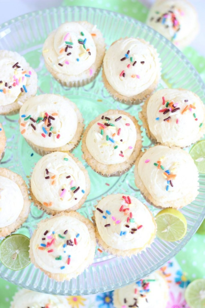 key lime angel food cupcakes with key lime curd 7