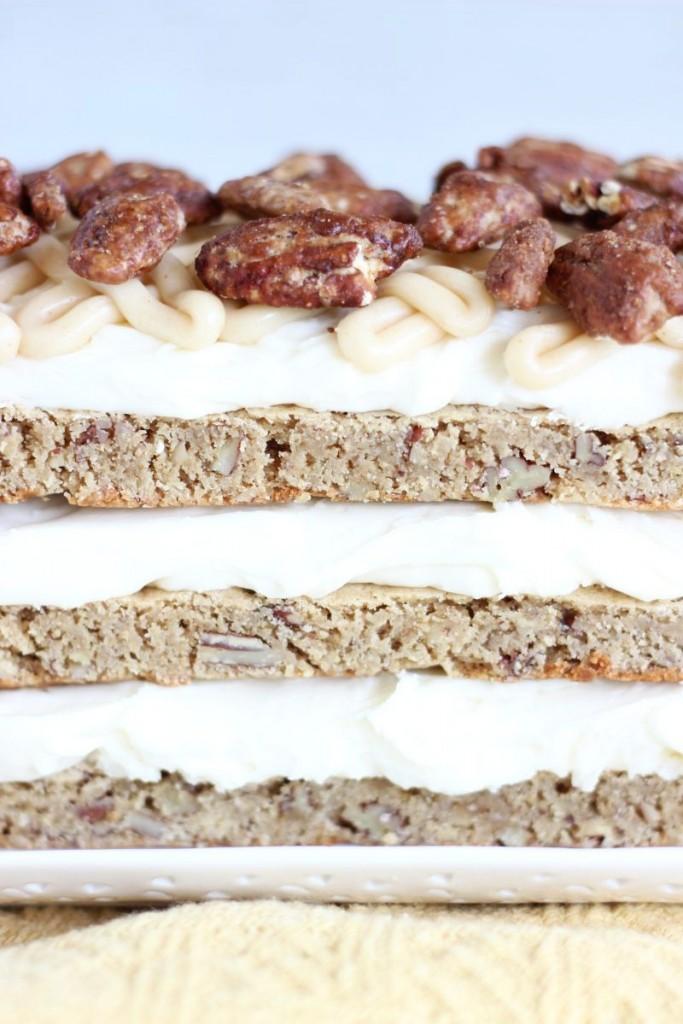 maple pecan blondie torte 15
