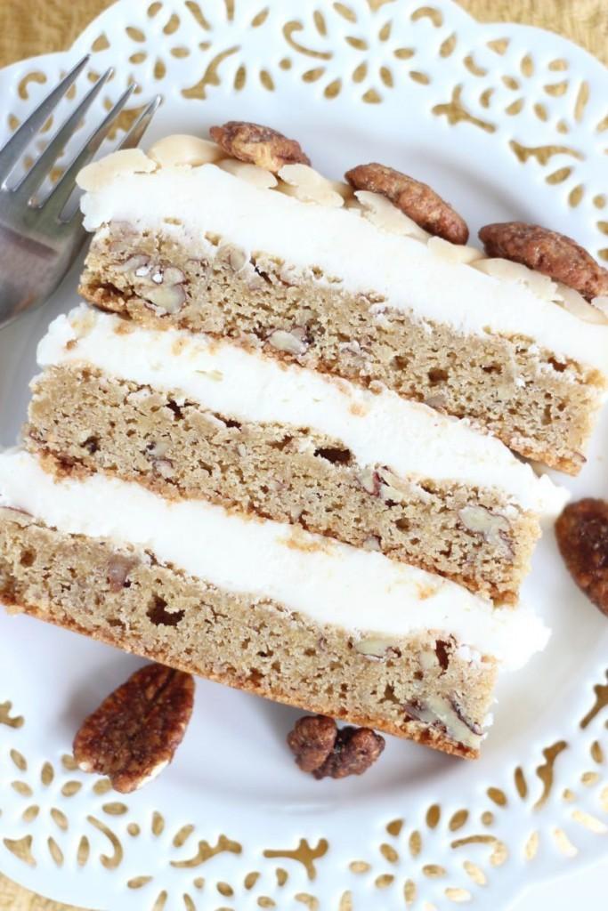 maple pecan blondie torte 25