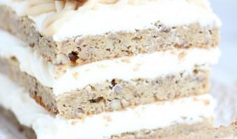 maple pecan blondie torte 30