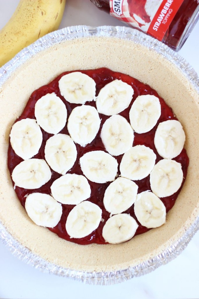 no bake banana split pie 1