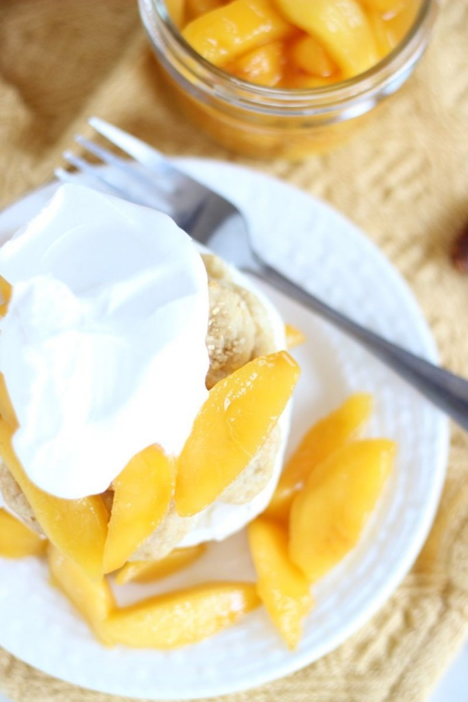 peaches & cream shortcakes 12