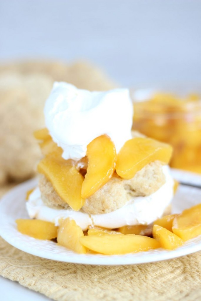 peaches & cream shortcakes 13