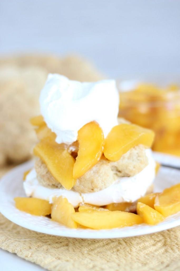 peaches & cream shortcakes 13