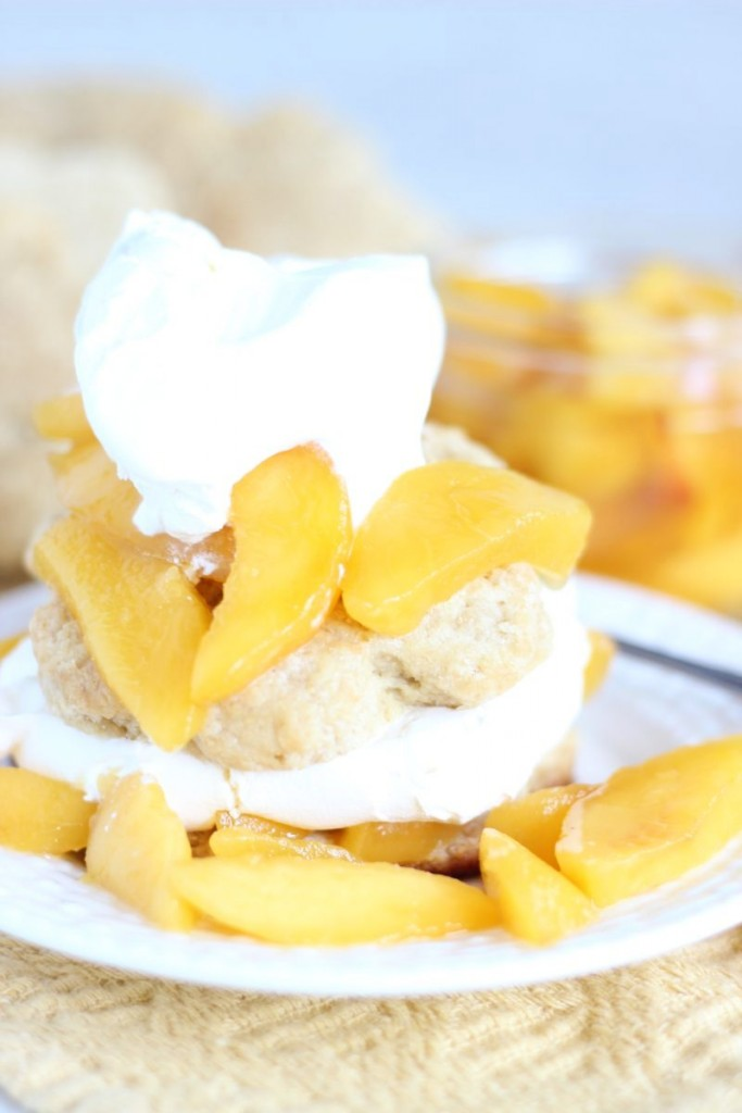 peaches & cream shortcakes 16
