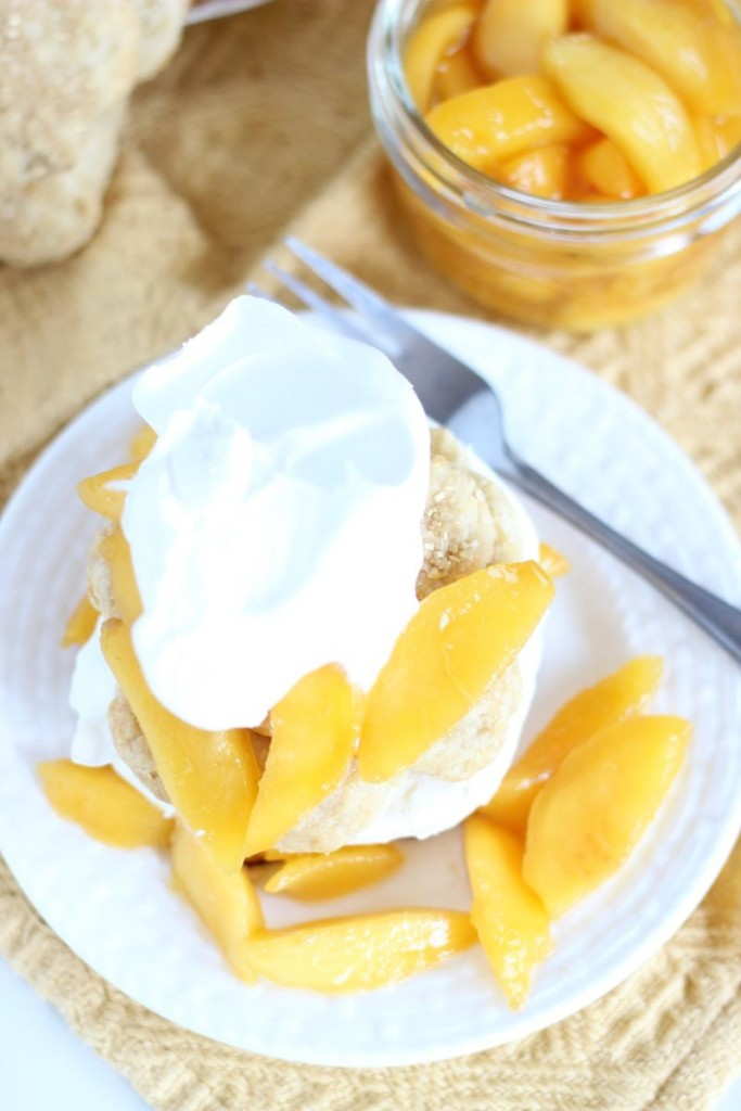 peaches & cream shortcakes 8