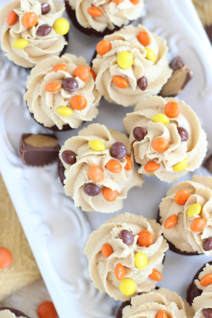 peanut butter cup brownie cups 10