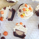 peanut butter cup brownie cups 12