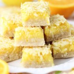 Triple Citrus Coconut Bars