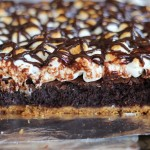 ultimate fudgy s'mores brownies 11