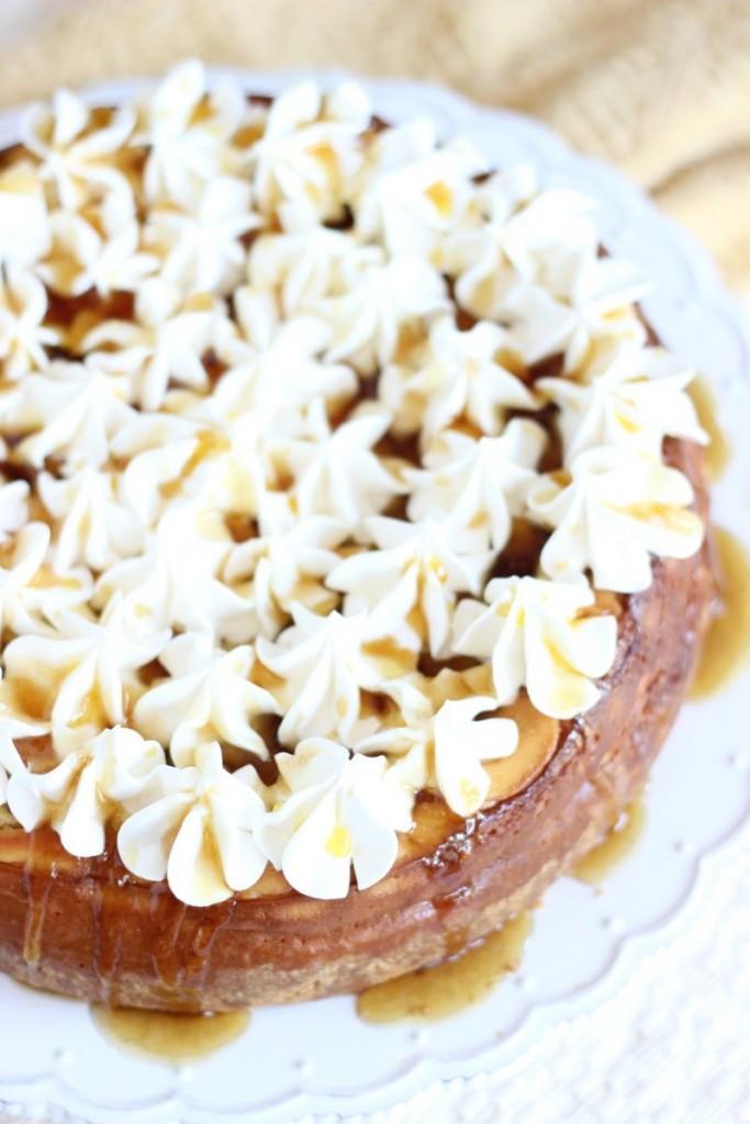 bananas foster cheesecake 6