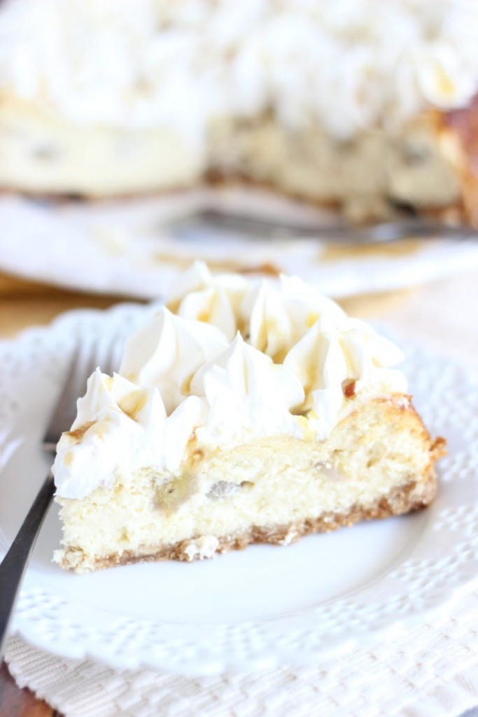 bananas foster cheesecake 9