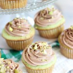 chocolate ganache pistachio cupcakes with chocolate cream cheese frosting 12