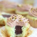 chocolate ganache pistachio cupcakes with chocolate cream cheese frosting 17