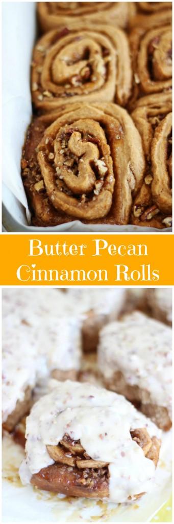 glazed butter pecan cinnamon rolls 23