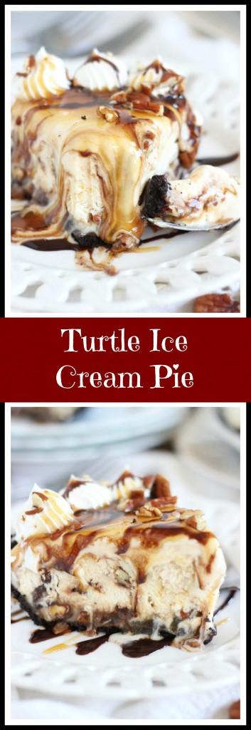 mile high turtle ice cream pie pin
