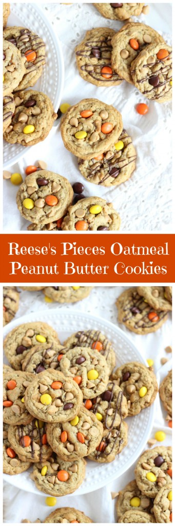 oatmeal peanut butter cookies pin