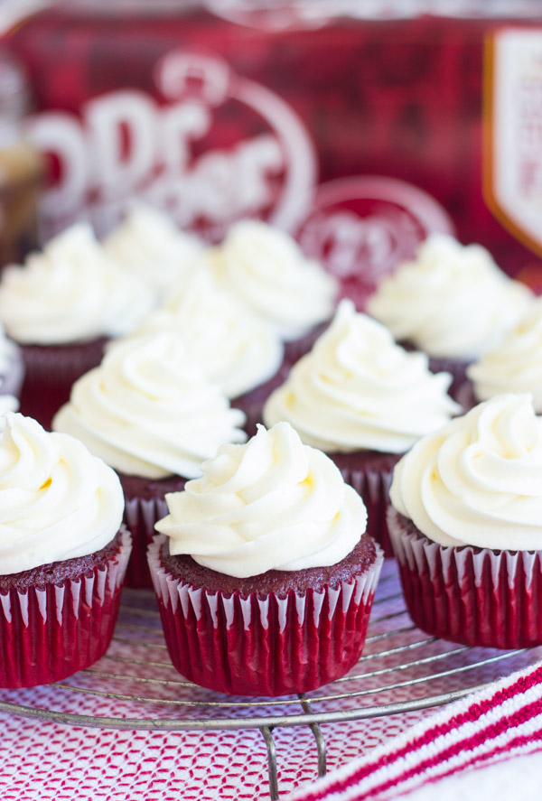 Dr Pepper Red Velvet Cupcakes with Cream Cheese Frosting (2)