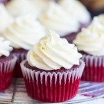 Dr Pepper® Red Velvet Cupcakes with Cream Cheese Frosting