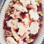 Halloween Cranberry Apple Salad