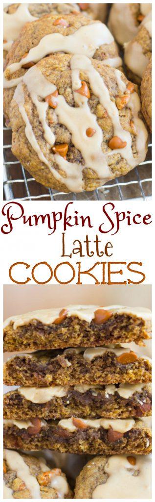 Pumpkin Spice Latte Cookies pin 2